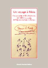 Un voyage à Résia : il manoscritto di Ella Adaïewsky del 1883 e la nascita dell'etnomusicologia in Europa