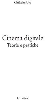 Cinema digitale : teorie e pratiche