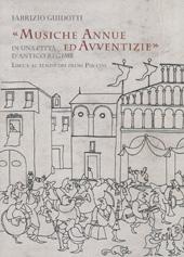 Musiche annue ed avventizie in una città d'antico regime : Lucca al tempo dei primi Puccini