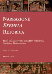 Narrazione, Exempla, Retorica : studi sull'iconografia dei soffitti dipinti nel Medioevo Mediterraneo