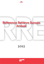 Reference reviews Europe annual, [RRE] : 18, 2012 : based on reviews published in Informationsmittel IFB with original reviews. -  - Fiesole (Firenze) : Casalini libri, 2014.