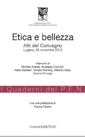 Etica e bellezza : atti del convegno, Lugano, 26 novembre 2013 - Amadò, Michele - Rimini : Guaraldi, 2014.