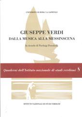 Giuseppe Verdi : dalla musica alla messinscena : in ricordo di Pierluigi Petrobelli
