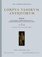Ruvo di Puglia, Museo nazionale Jatta : 1. : Ceramica a figure rosse protoitaliota, lucana e Apula antica