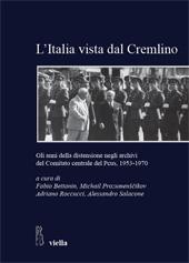 L'Italia vista dal Cremlino : gli anni della distensione negli archivi del Comitato centrale del PCUS, 1953-1970