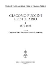 Giacomo Puccini : epistolario : I : 1877-1896