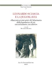 Una parola croata per Leonardo Sciascia - Roić, Sanja - Firenze : Leo S. Olschki, 2015.