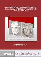 Percorsi di cultura politica greca dall'ascesa macedone a Gustiniano : (IV sec. a. C. - VI sec. d. C.)