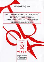 Mito y literatura en la filmografia de Francis Ford Coppola : un estudio intertextual y mitocrítico a partir de Apocalypse now