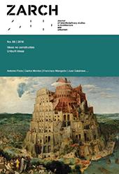 ZARCH : Journal of interdisciplinary studies in Architecture and Urbanism -  - Zaragoza : Prensas Universitarias de Zaragoza