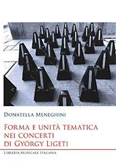 Forma e unità tematica nei concerti di György Ligeti