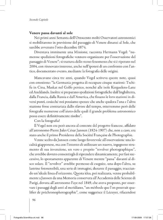 Alle origini della fotografia scientifica : una breve storia - [Zannier, Italo] - [Firenze : Emmebi, 2008.]