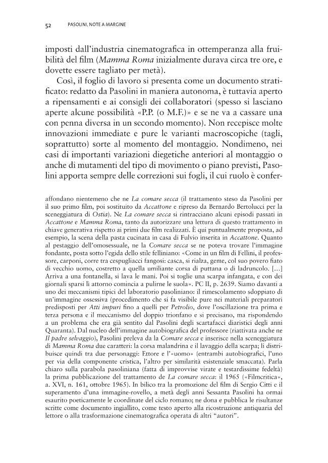 Pasolini, note a margine - [Frontaloni, Elena, 1980-] - [Macerata : EUM-Edizioni Università di Macerata, 2009.]