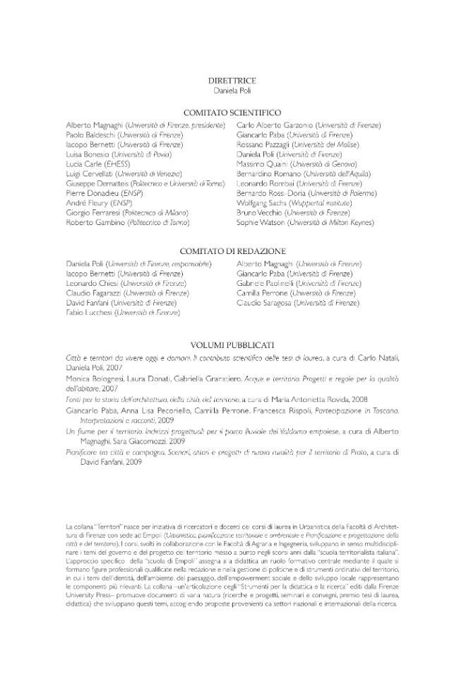Pianificare tra città e campagna : scenari, attori e progetti di nuova ruralità per il territorio di Prato - [Fanfani, David] - [Firenze : Firenze University Press, 2009.]