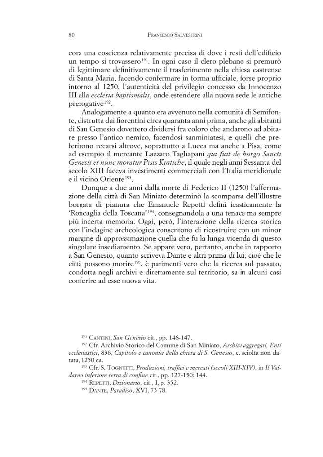 Vico Wallari-San Genesio : ricerca storica e indagini archeologiche su una comunità del medio Valdarno inferiore fra alto e pieno Medioevo -  - [Firenze : Firenze University Press, 2010.]