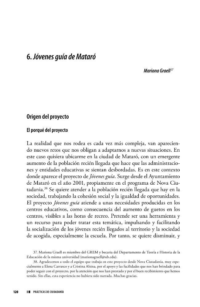 Jóvenes guía de Mataró - [Graell, Mariona] - [[S.l.] : Editorial Octaedro, 2010.]