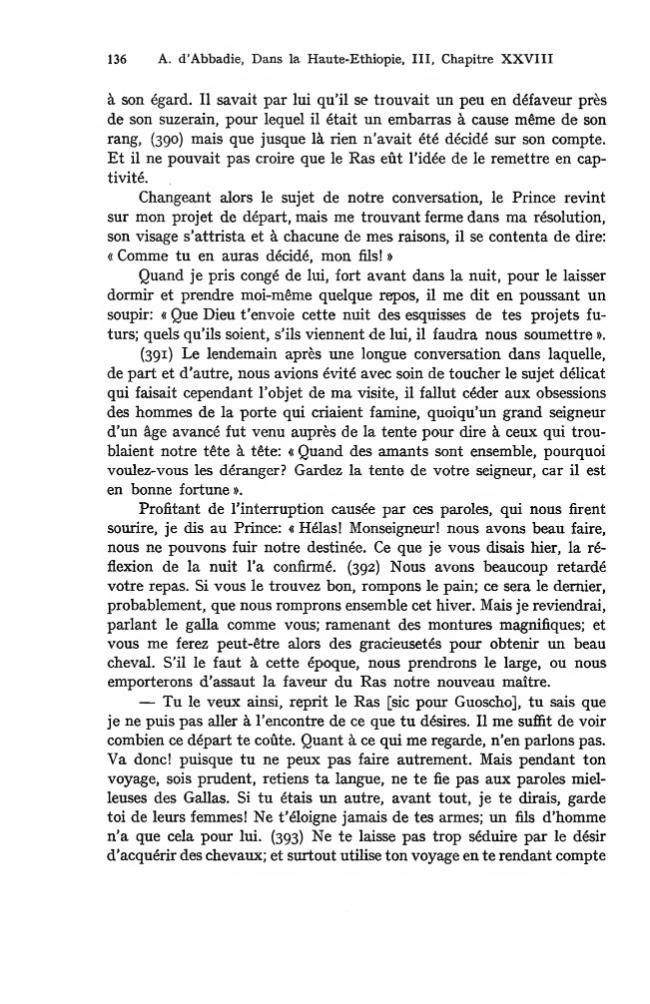 Douze ans de séjour dans la haute-Éthiopie (Abyssinie) : tome troisième - [Allier, Jeanne-Marie, editor, Abbadie, Arnauld d'.] - [Città del Vaticano : Biblioteca apostolica vaticana, 1983.]