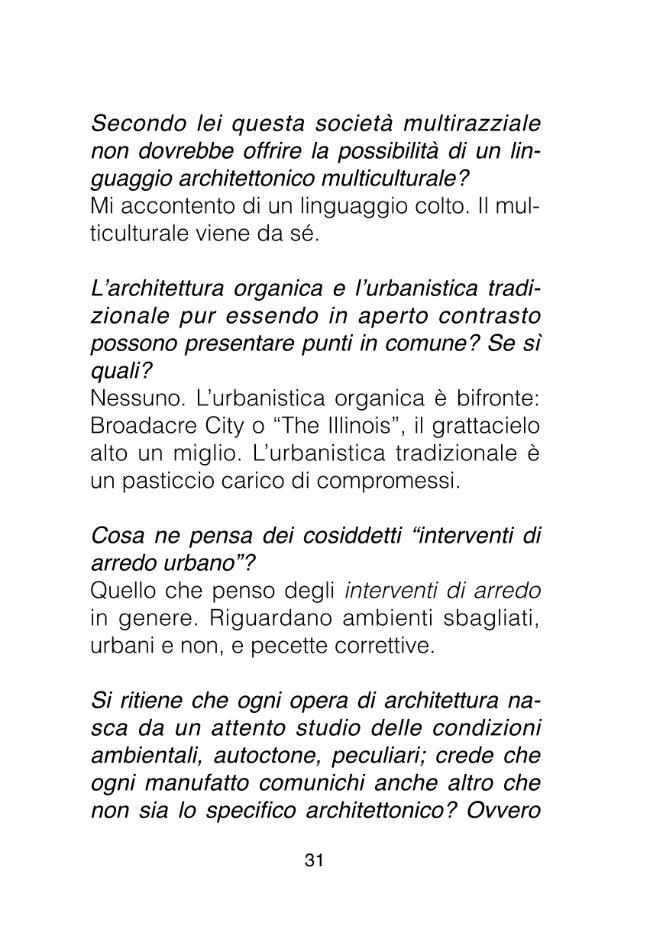 Saper credere in architettura cento domande a bruno zevi for Bruno zevi saper vedere l architettura