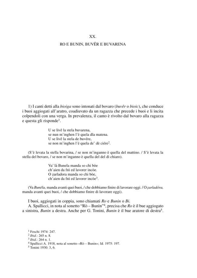 XX. Ro e Bunin, buvêr e buvarena - [Calvetti, Anselmo] - [Ravenna : Longo, 2001.]