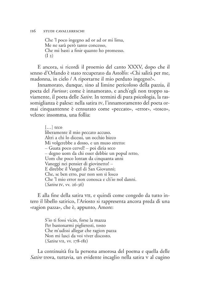 Studi cavallereschi - [Bruscagli, Riccardo] - [Firenze : Società editrice fiorentina, 2003.]