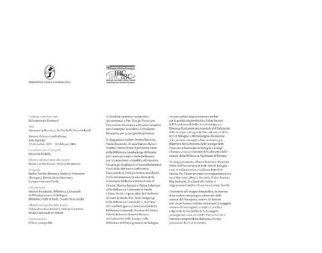 Viaggi in Romagna : doppio sguardo : incisioni [di] Bernardino Rosaspina, fotografie [di] Emilio Salvatori -  - [Bologna : CLUEB, 2005.]