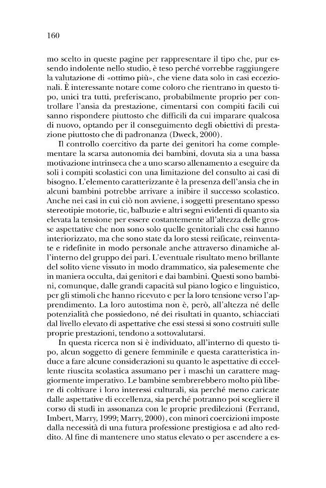 Perché qualcuno sì e qualcuno no? : i bambini e la riuscita scolastica - [Migliore, Antonietta] - [Milano : Guerini scientifica, 2006.]
