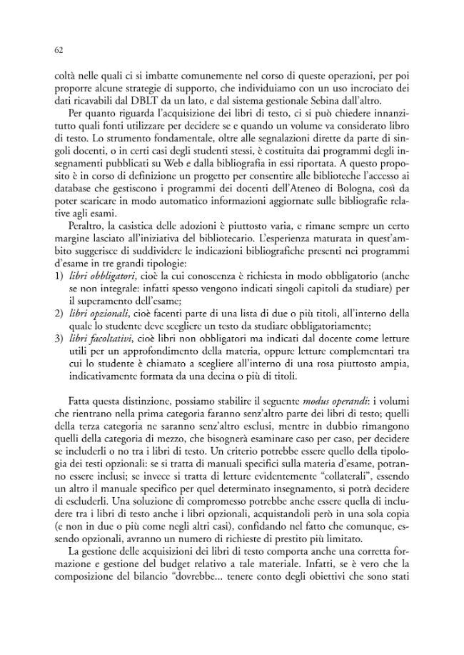 Spazi e servizi della nuova biblioteca del Polo di Rimini - [Citti, Alessandra] - [Bologna : CLUEB, 2007.]