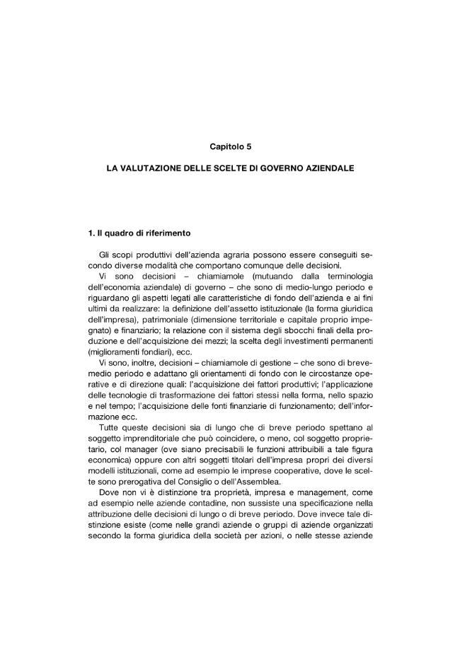 La valutazione delle scelte di governo aziendale - [Messori, Flavio] - [Bologna : CLUEB, 2007.]
