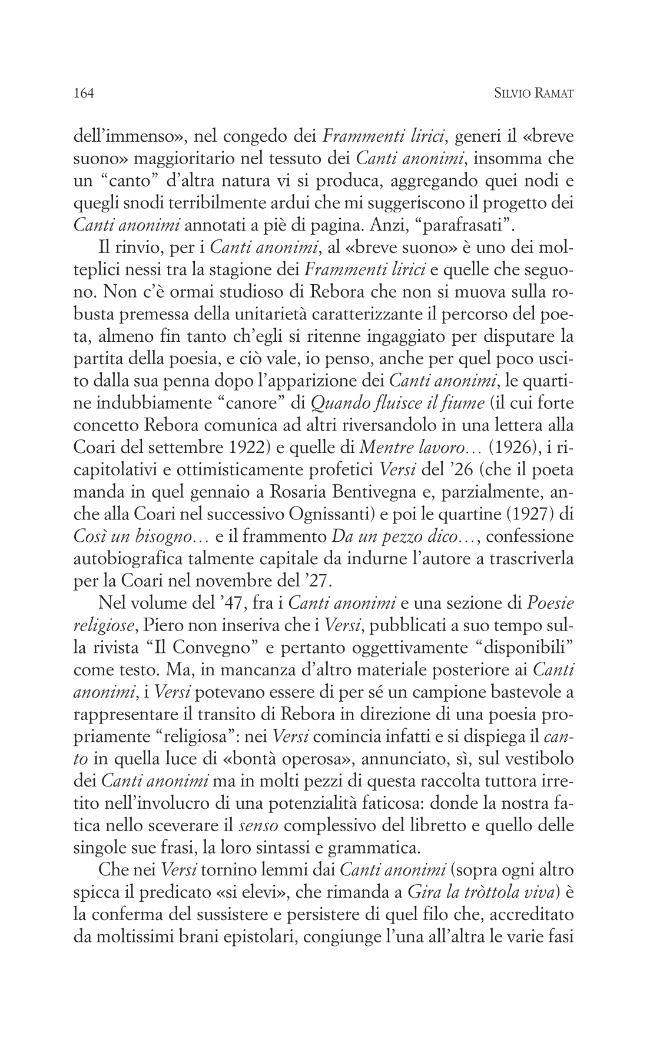 A verità condusse poesia : per una rilettura di Clemente Rebora - [Langella, Giuseppe, editor, Cicala, Roberto, editor] - [Novara : Interlinea, 2008.]