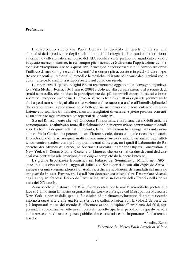 Ottocento italiano e smalti di Limoges : la produzione dell'atelier Pénicaud tra revival, collezionismo e arti industriali - [Cordera, Paola] - [[Firenze] : LoGisma, 2008.]
