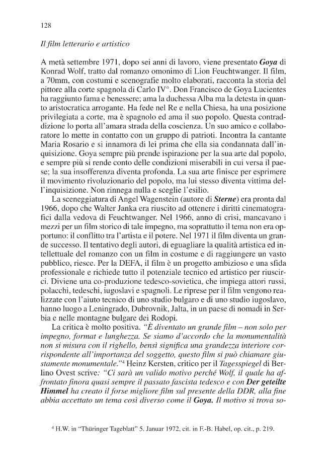 Al di là del muro : cinema e società nella Germania Est, 1945-1990 - [Schmidt, Christina] - [Bologna : CLUEB, 2009.]