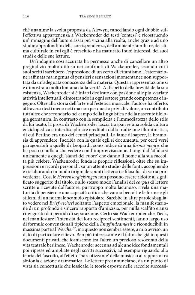 Tra sensi e spirito : la concezione della musica e la rappresentazione del musicista nella letteratura tedesca - [Di Manno, Marco] - [Firenze : Firenze University Press, 2009.]