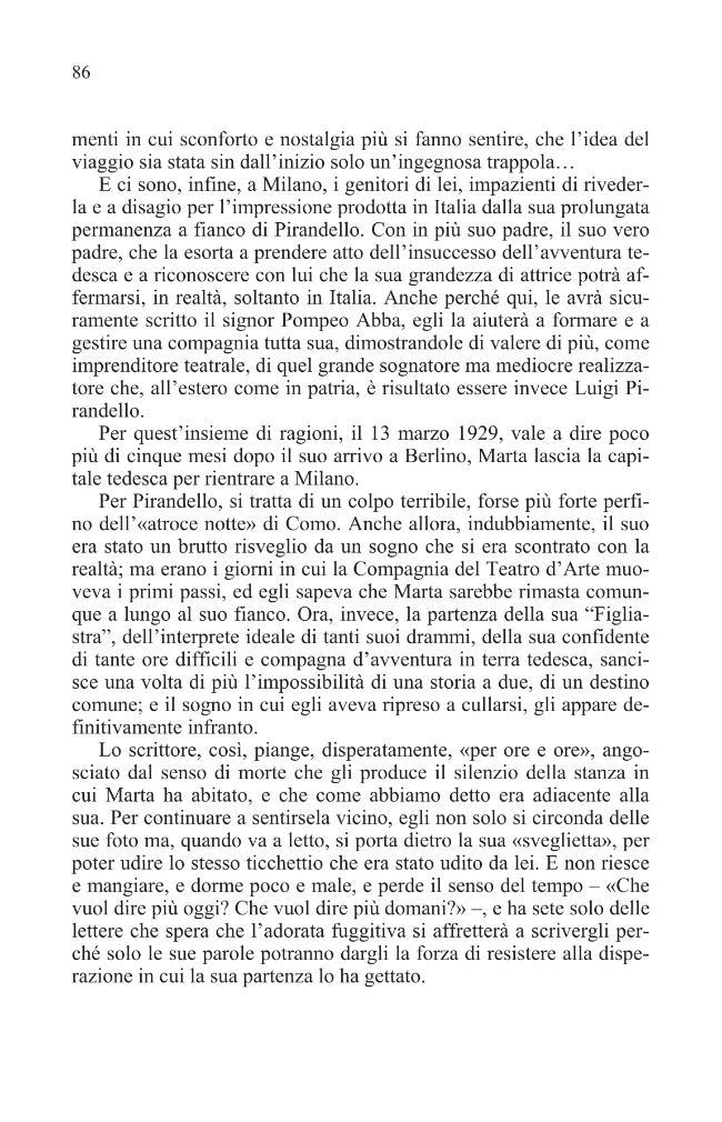 La musa ritrosa : Pirandello e Marta Abba - [Ferrucci, Carlo, 1947-] - [Bologna : CLUEB, 2010.]