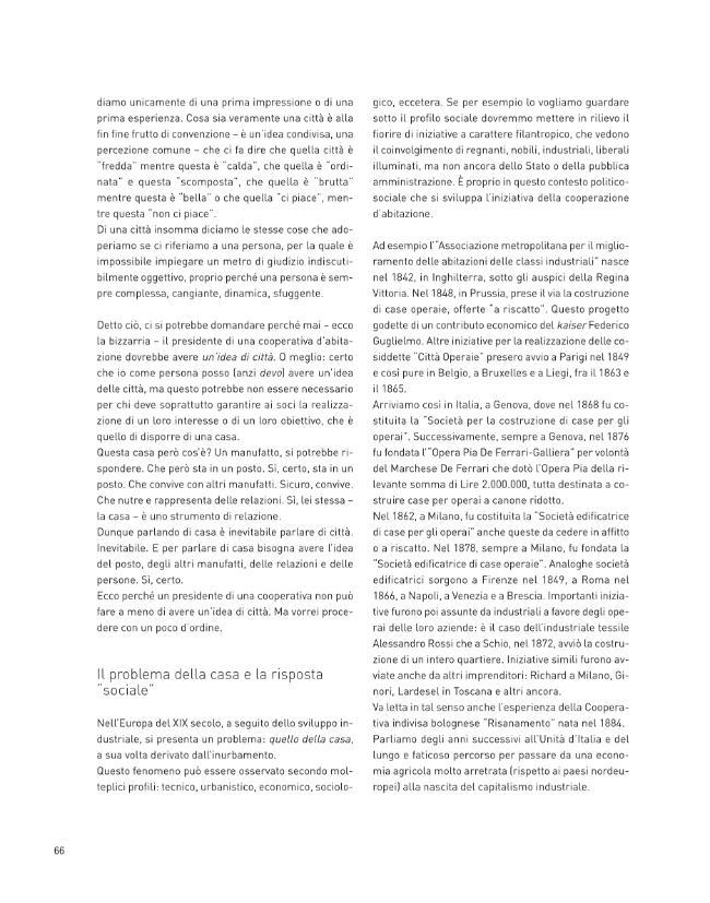 Abitante, socio, cittadino : un sopralluogo sulla cooperazione di abitanti - [Viviani, Mario] - [Bologna : CLUEB, 2010.]
