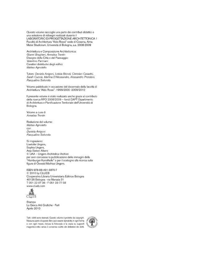 OMU/ AR : un laboratorio didattico - [Braghieri, Gianni] - [Bologna : CLUEB, 2010.]
