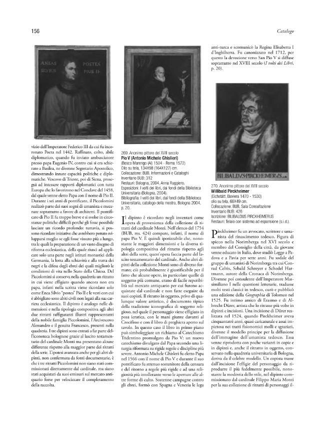 Imagines Illustrium Virorum : la collezione dei ritratti dell'Università e della Biblioteca Universitaria di Bologna - [Gandolfi, Giulia] - [Bologna : CLUEB, 2011.]