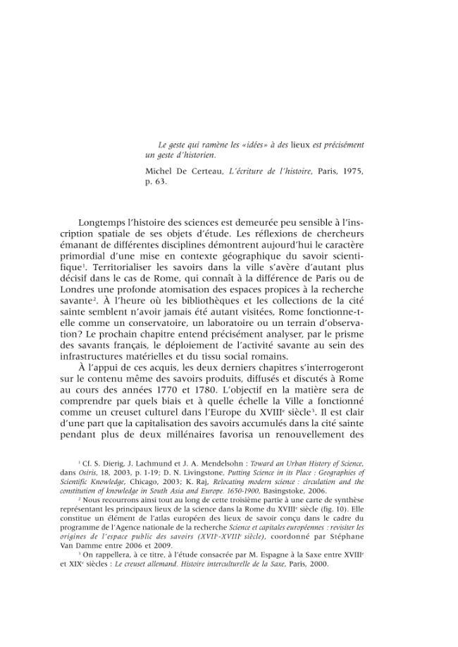 Les horizons de la recherche savante - [Montègre, Gilles.] - [Roma : École française de Rome, 2011.]