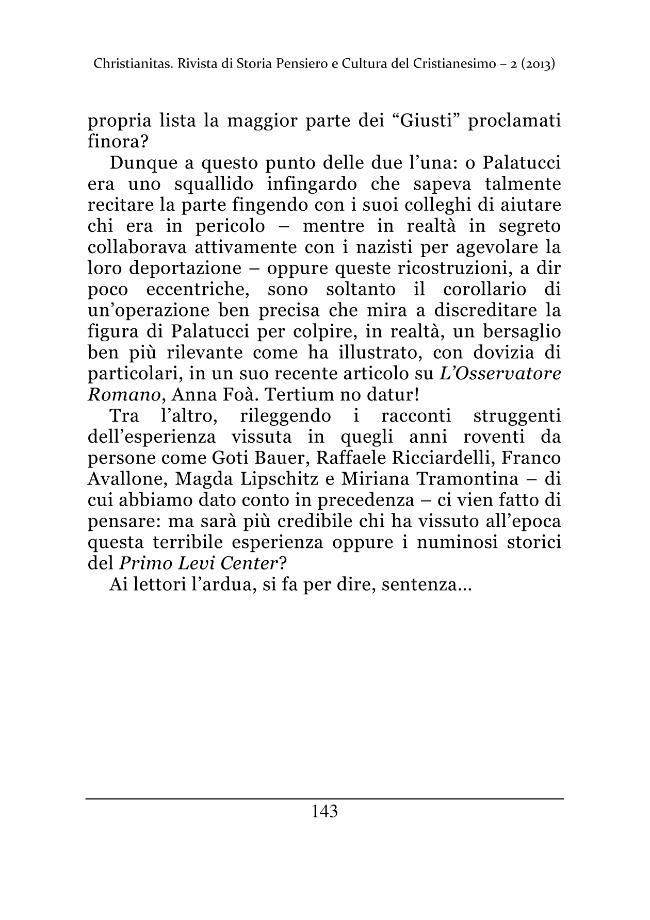 Christianitas : rivista di Storia, Pensiero e Cultura del Cristianesimo : 2, 2013 -  - [Roma : Drengo, 2013.]