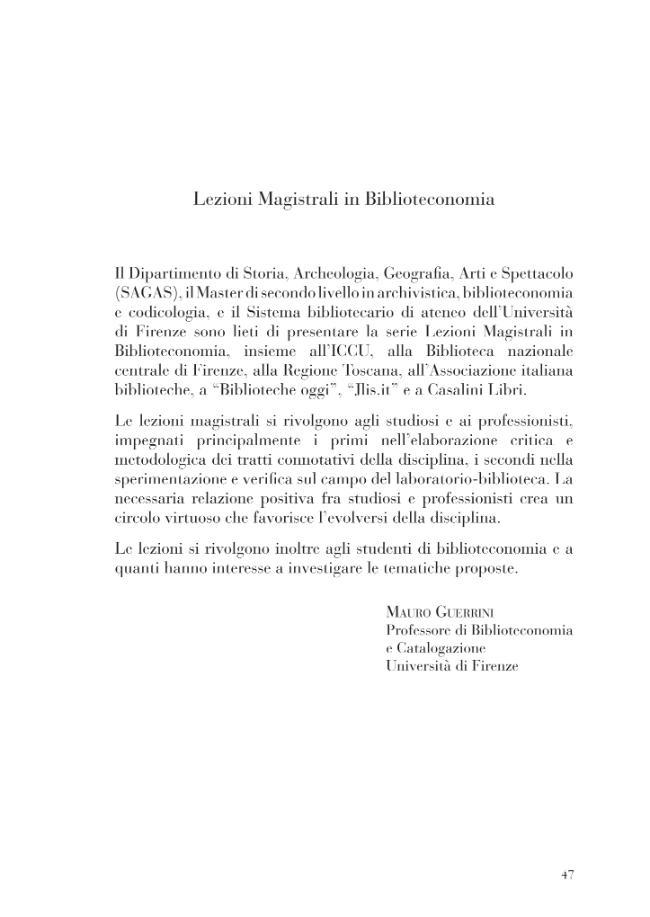 RDA and the semantic Web : lectio magistralis in library science : Florence, Italy, Florence University, 4th March, 2014 = RDA e il Web semantico ... - [Dunsire, Gordon] - [Fiesole (Firenze) : Casalini libri, 2014.]