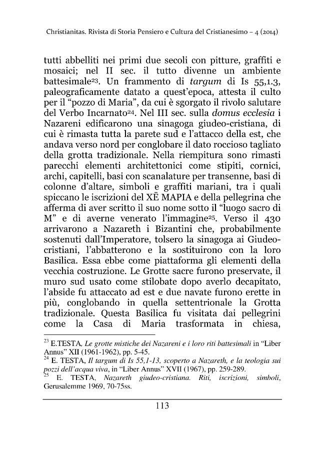 Christianitas : rivista di Storia, Pensiero e Cultura del Cristianesimo : 4, 2, 2014 -  - [Roma : Drengo, 2014.]