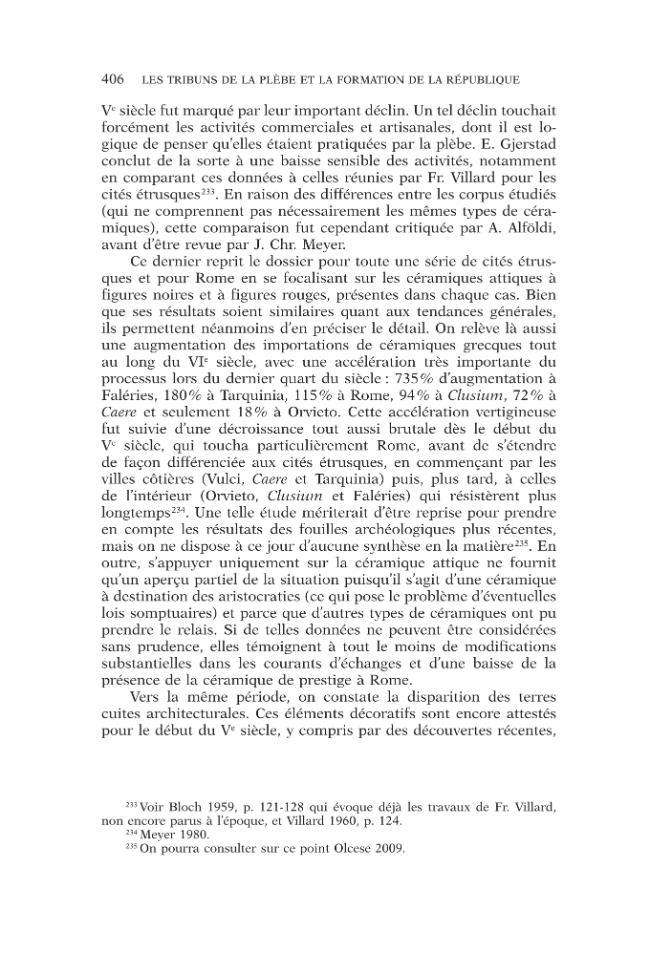 Les tribuns de la plèbe et la formation de la République romaine, 494-287 avant J.-C. - [Lanfranchi, Thibaut] - [Roma : École française de Rome, 2015.]