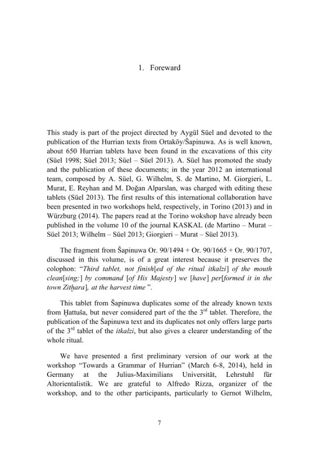 The third tablet of the itkalzi ritual - [Süel, Aygül, De Martino, Stefano] - [Firenze : LoGisma, 2015.]