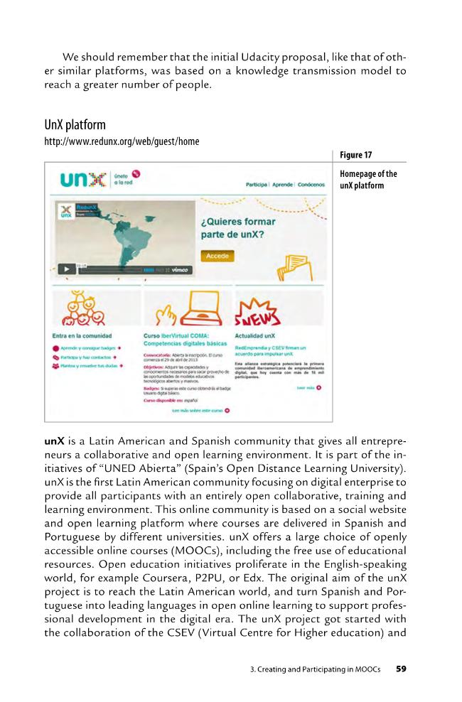 MOOCs and the Expansion of Open Knowledge - [López Meneses, Eloy, Sarasola Sánchez-Serrano, José Luis., Vázquez Cano, Esteban] - [Barcelona : Octaedro, 2015.]