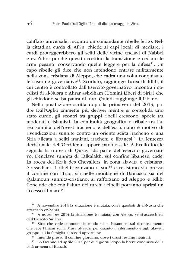 Padre Paolo Dall'Oglio : uomo di dialogo ostaggio in Siria - [Lapi, Chiara, editor] - [Pisa : Pisa University Press, 2015.]