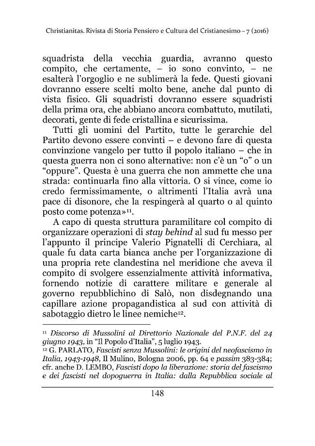 Christianitas : rivista di Storia, Pensiero e Cultura del Cristianesimo : 7, 1, 2016 -  - [Roma : Drengo, 2016.]