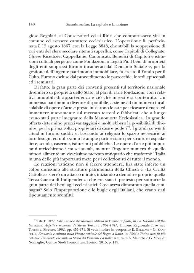 1865 : questioni nazionali e questioni locali nell'anno di Firenze capitale : atti del Convegno di studi, Firenze, 29-30 ottobre 2015 - [Rogari, Sandro] - [[Firenze] : Polistampa, 2016.]