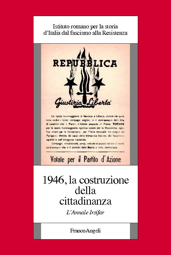 1946 : la costruzione della cittadinanza : l'Annale Irsifar -  - [Milano : F. Angeli, 2018.]